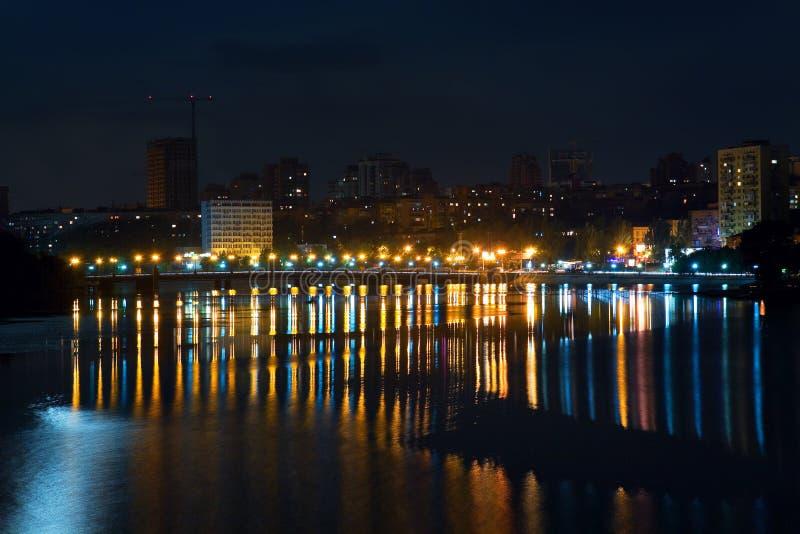都市横向的晚上 免版税图库摄影