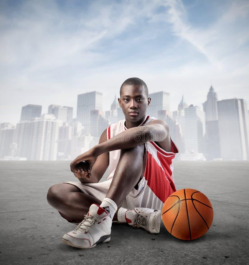 都市的体育运动 免版税库存图片