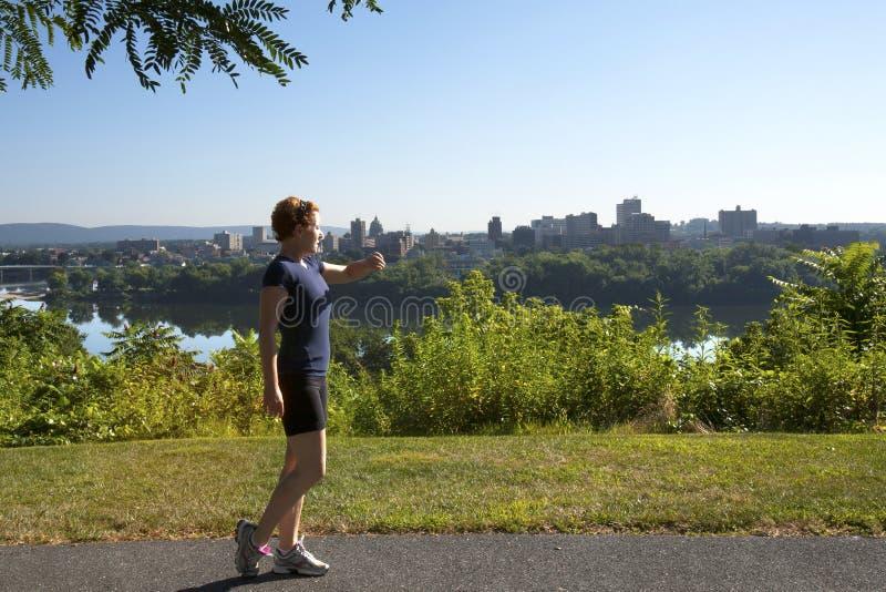 都市的健身 免版税库存图片