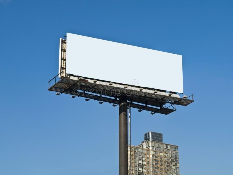 都市的广告牌 库存照片