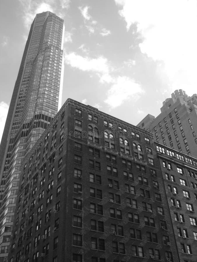 都市的摩天大楼 免版税图库摄影