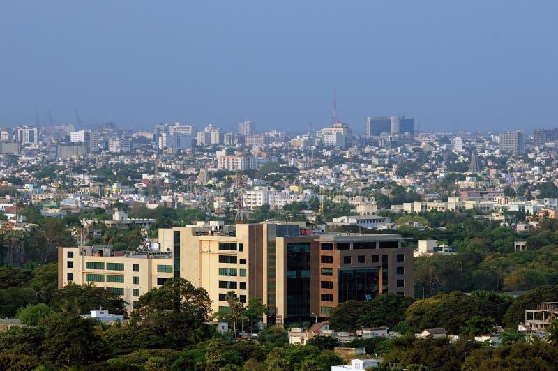 都市的横向 免版税库存照片