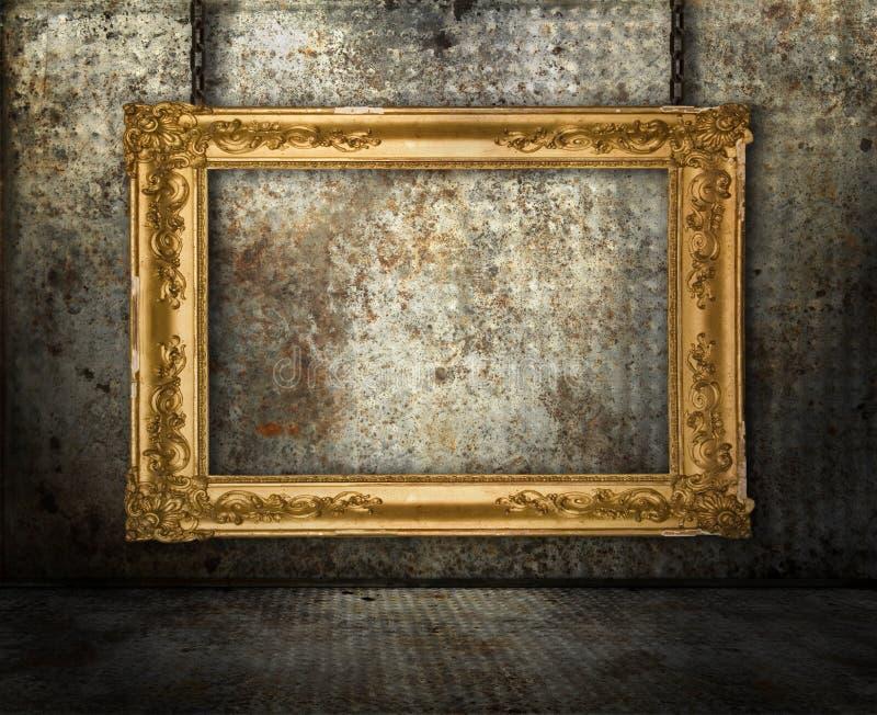 都市的画廊 库存例证