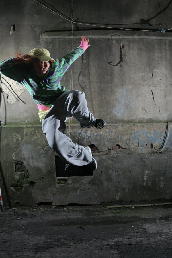 都市的舞蹈演员 免版税库存图片