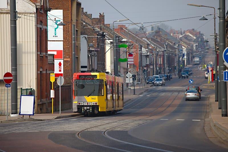 都市的街道 免版税库存照片