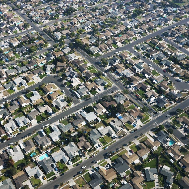 都市的邻里 图库摄影
