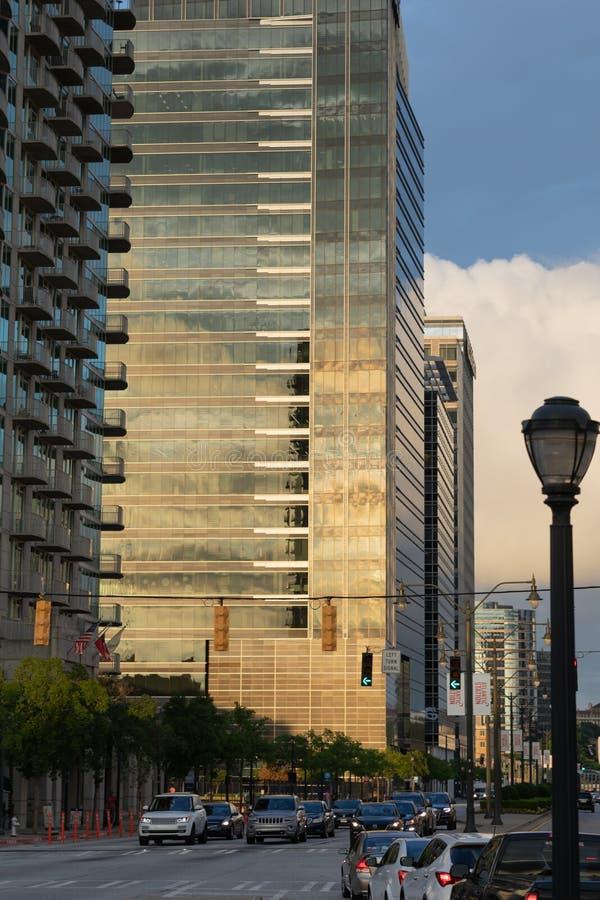 都市的都市风景 免版税库存图片