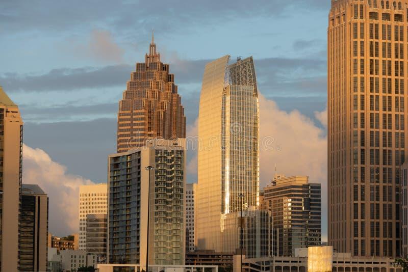 都市的都市风景 库存图片