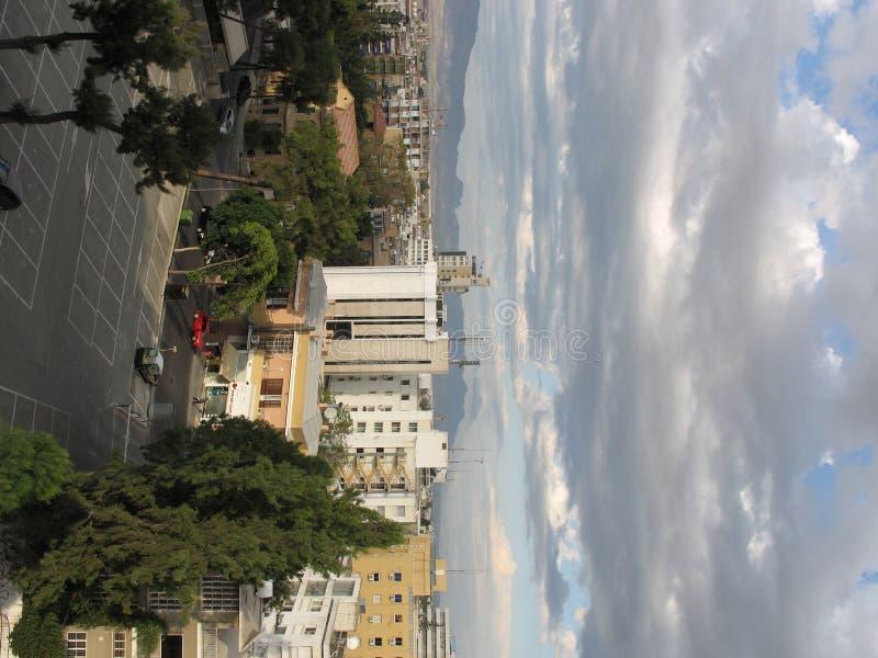 都市的风景 免版税库存图片