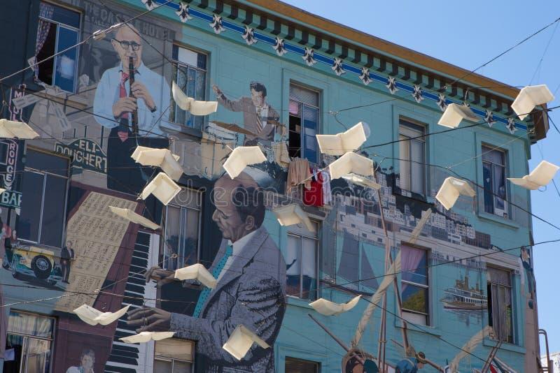 都市艺术在卡斯特罗地区在旧金山 图库摄影
