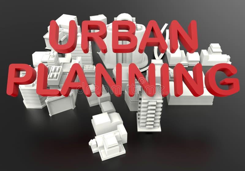 都市计划发展概念 皇族释放例证