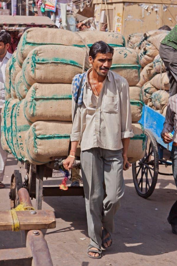 都市运输在印度 库存图片