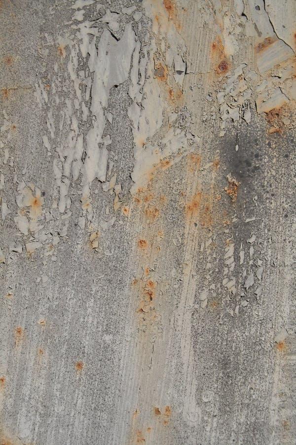都市铁锈的纹理 库存照片