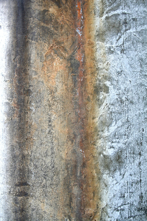 都市铁锈的纹理 免版税库存图片