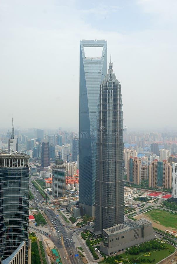 都市风景上海 免版税库存图片