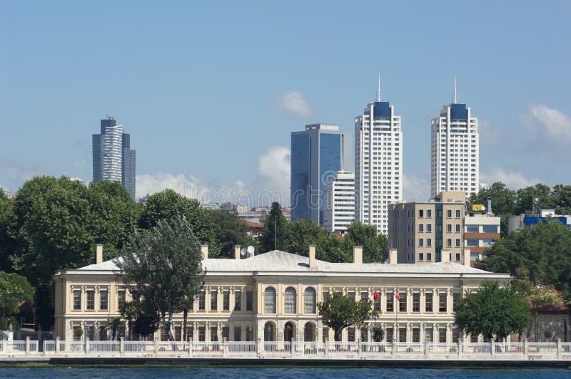 都市风景伊斯坦布尔 免版税图库摄影