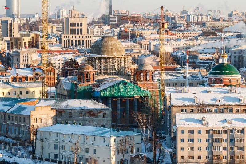 都市风景喀山鞑靼斯坦共和国 库存图片