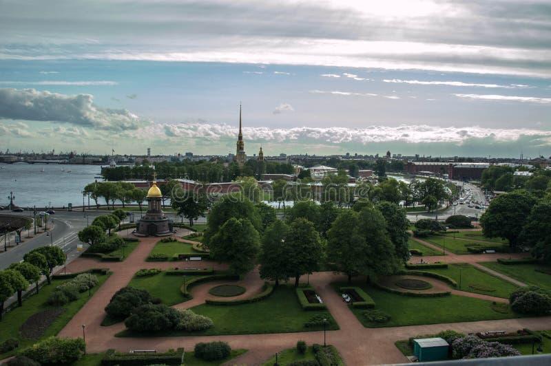都市风景圣彼德堡 免版税库存照片