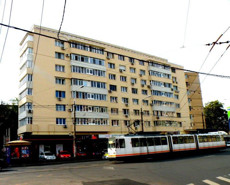 都市风景在布加勒斯特 库存图片
