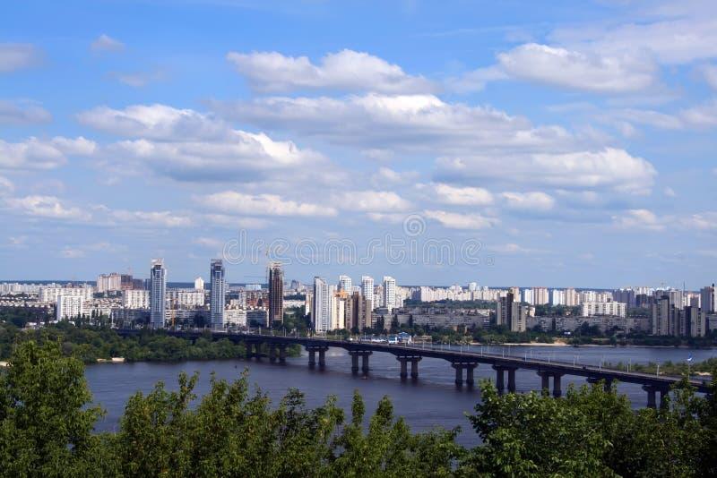 都市风景基辅s 免版税库存图片