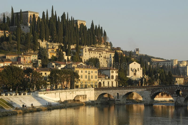 都市风景意大利语 库存照片