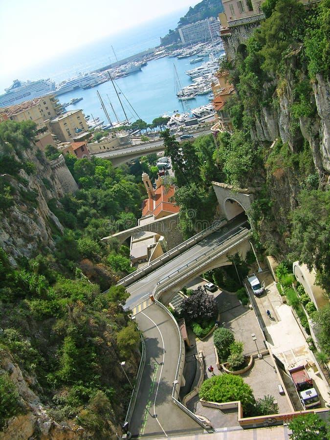 都市风景摩纳哥 免版税库存照片