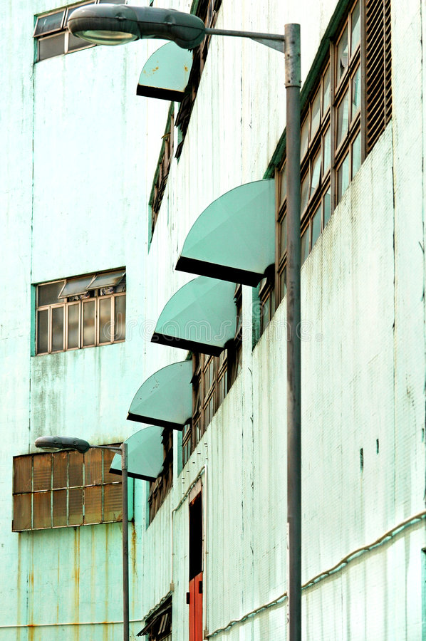 都市grunge行业的系列 免版税库存照片