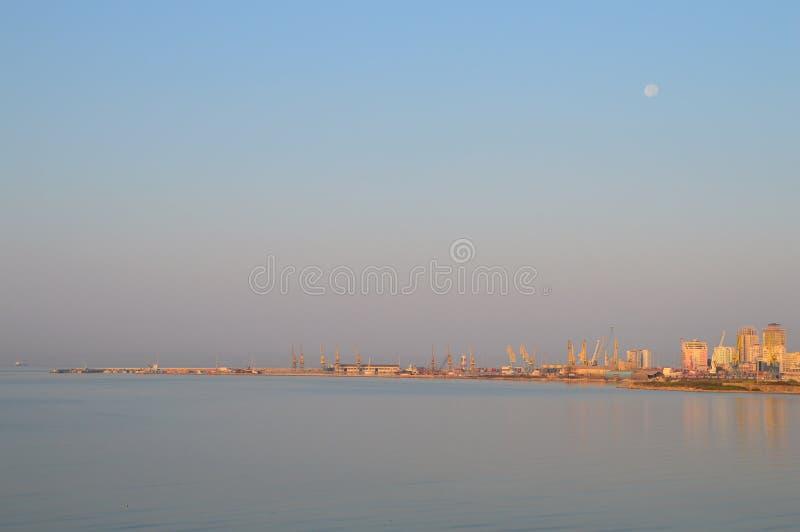 都拉斯港  库存照片