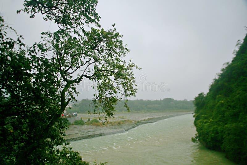都江水坝 库存照片
