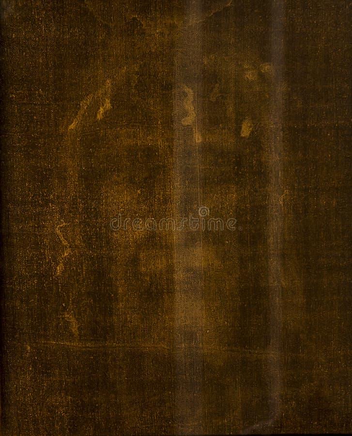 都灵意大利,2019年6月27日:耶稣基督的面孔寿衣的寺庙的在圣约翰教会里在都灵 库存照片
