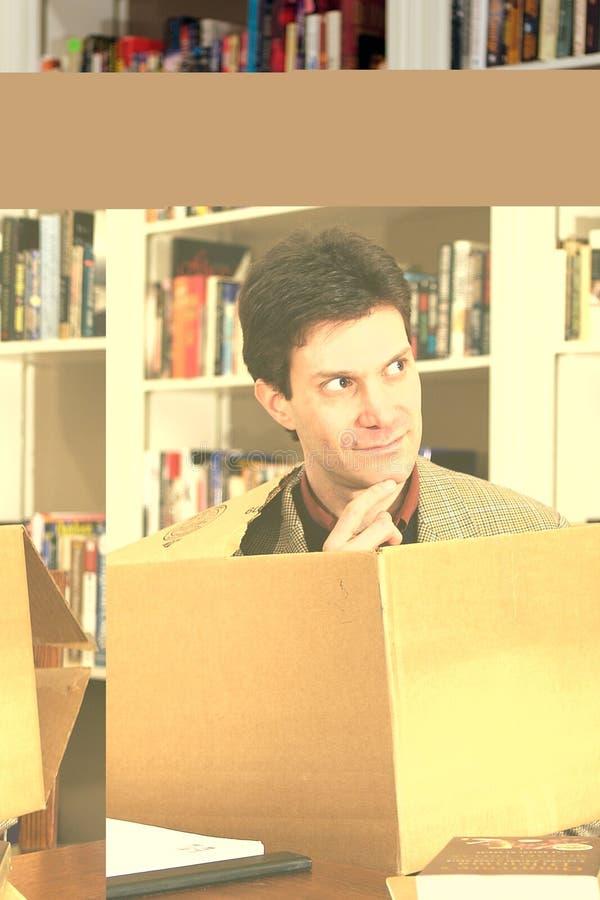 配件箱人外部认为 库存照片
