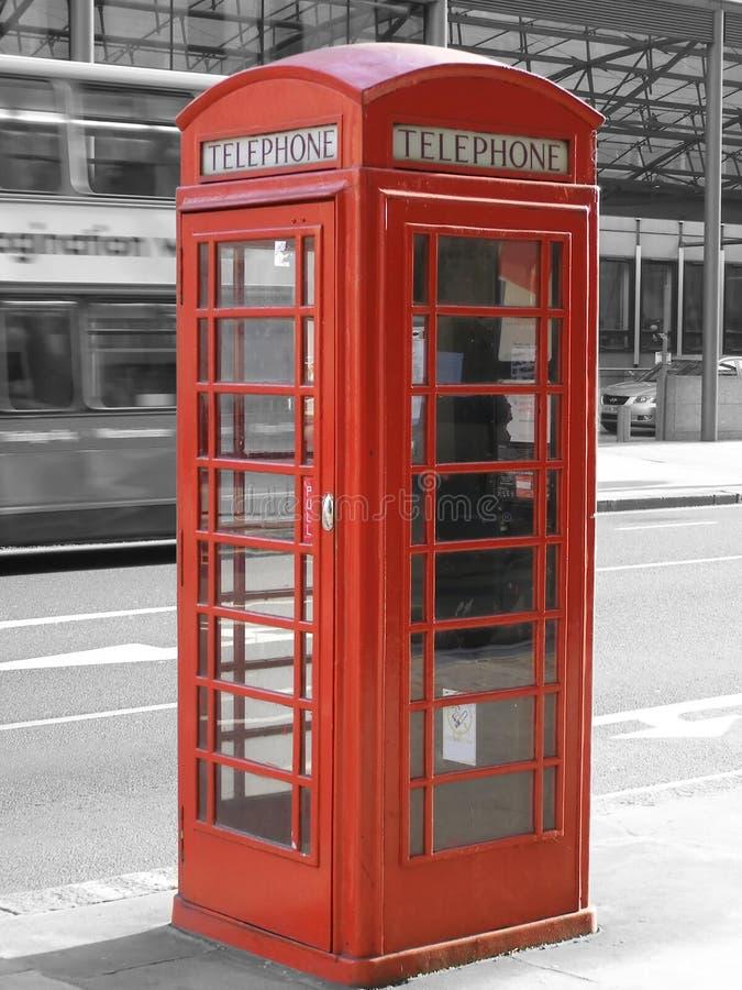 配件箱伦敦电话 免版税图库摄影