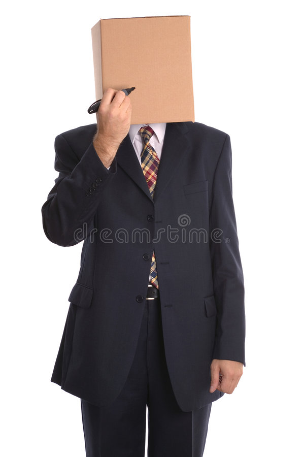 配件箱凹道表面人 免版税图库摄影
