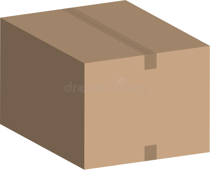 配件箱向量 皇族释放例证