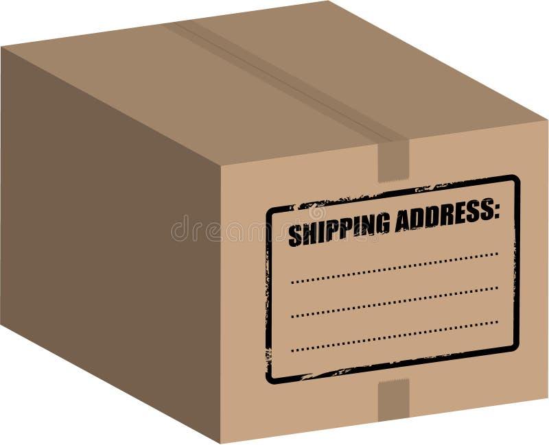 配件箱向量 向量例证