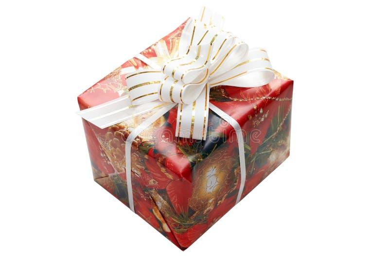 配件箱圣诞节花梢 免版税库存照片