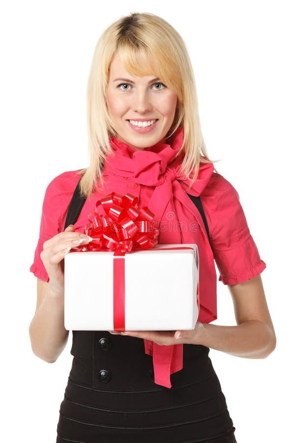 配件箱女性礼品藏品 免版税库存图片