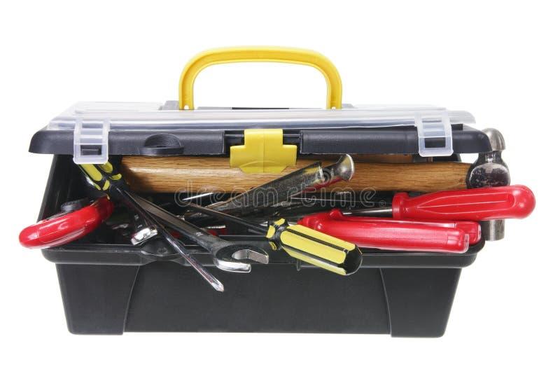 配件箱工具 免版税库存图片