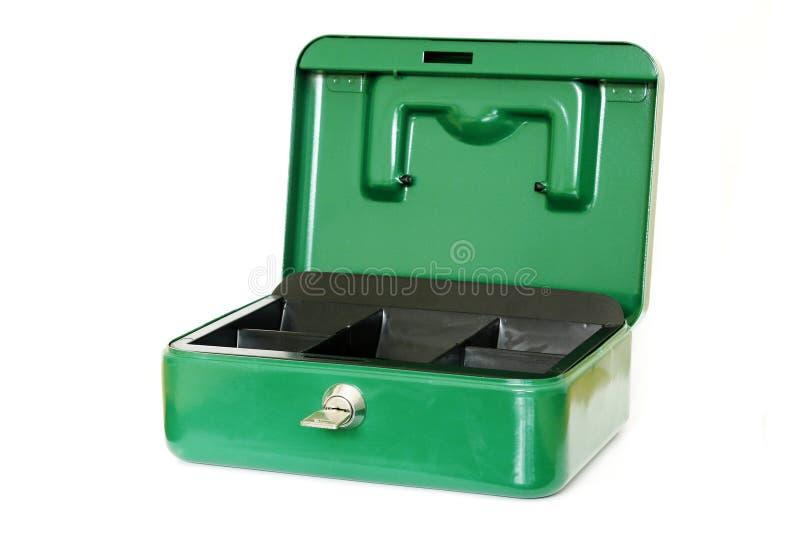 配件箱开放安全 库存照片