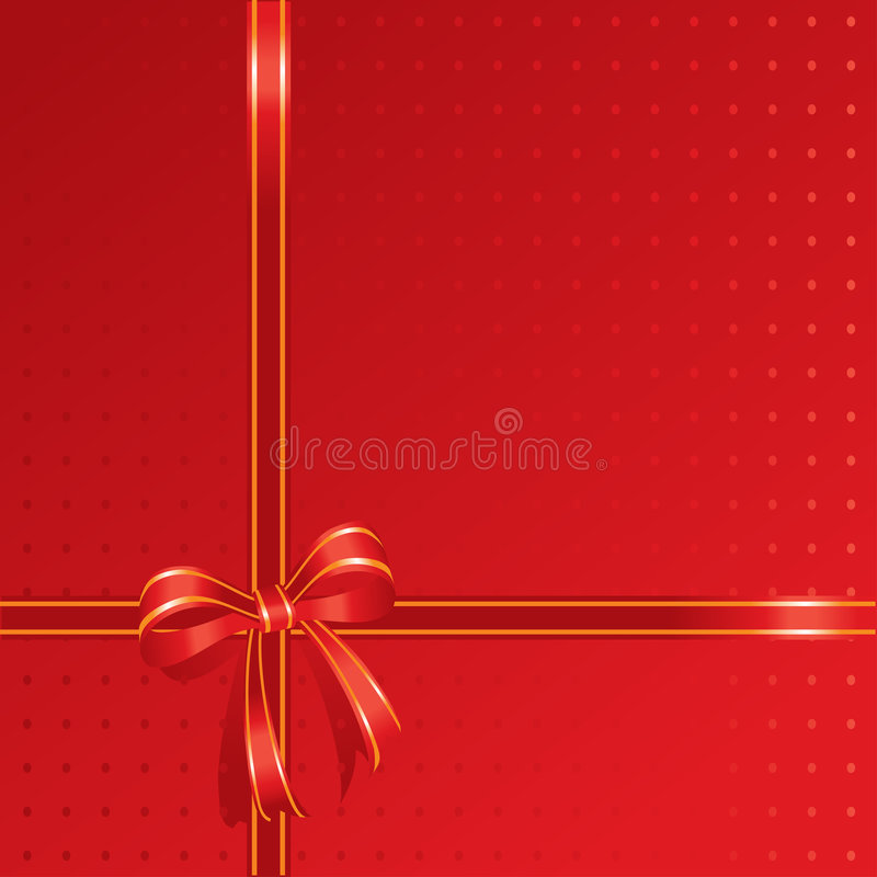 配件箱当前红色 向量例证