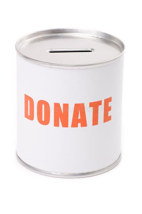 配件箱捐赠 免版税库存图片