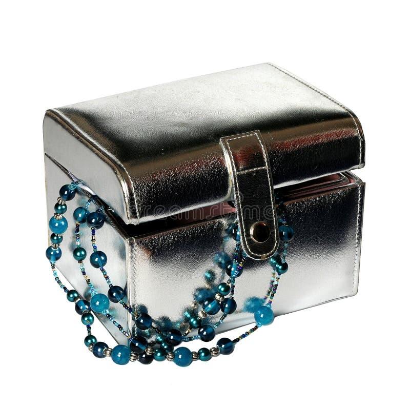 配件箱珠宝 库存图片