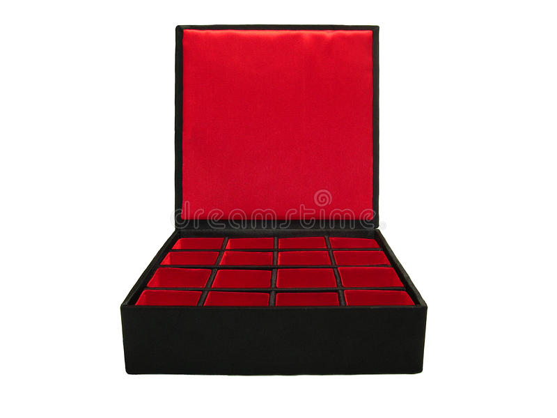 配件箱瓷 免版税库存图片