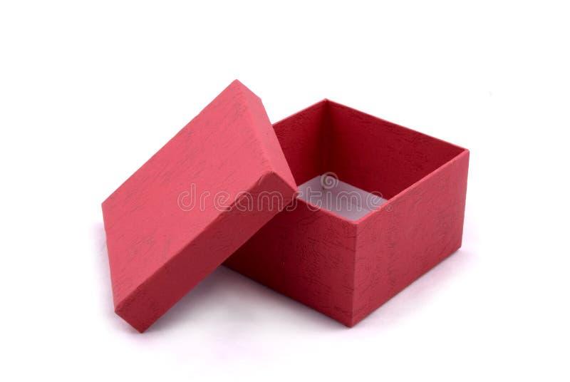 配件箱礼品红色 免版税库存照片