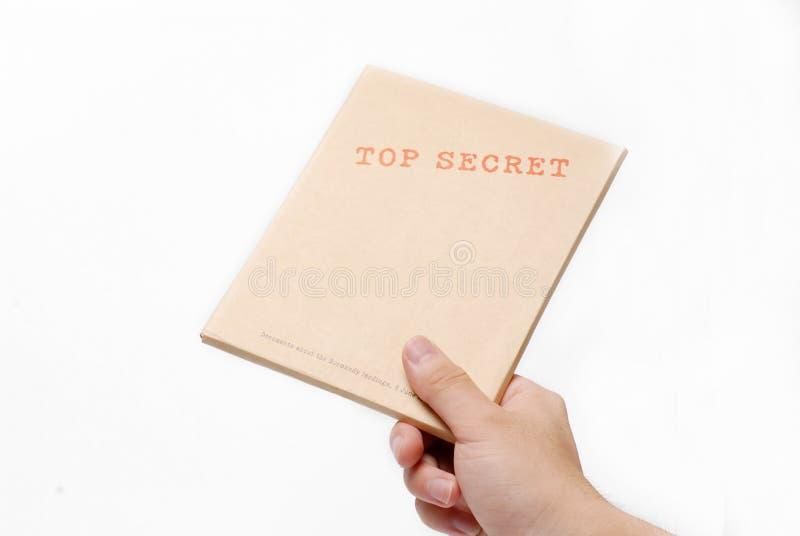 配件箱秘密顶层 库存图片