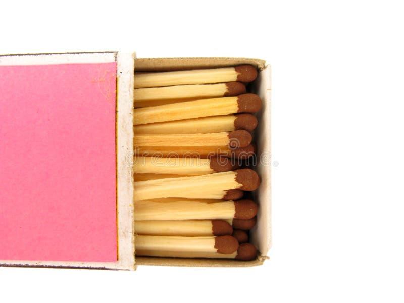 配件箱符合红色 库存照片