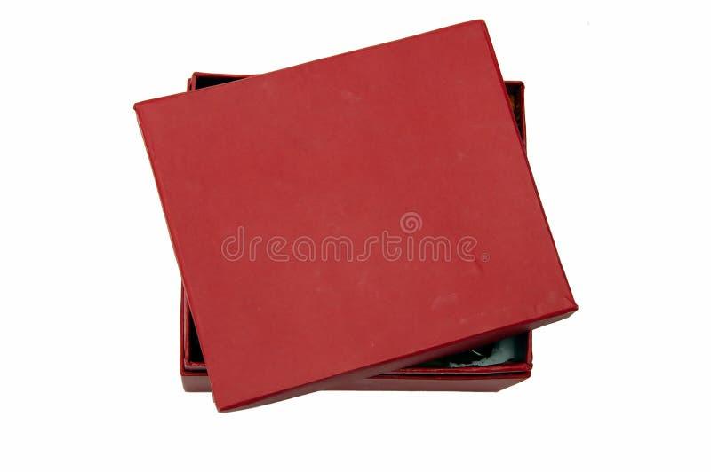 配件箱红色 免版税库存照片