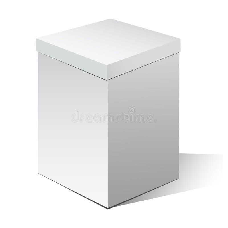 配件箱纸板 皇族释放例证