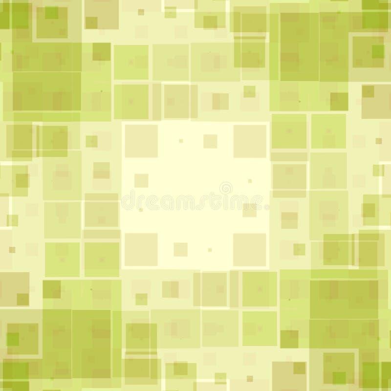 配件箱绿色模式纹理 皇族释放例证