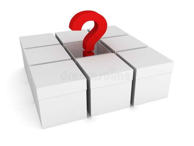 Download 配件箱被开张的问题红色白色 库存例证. 插画 包括有 容器, 装箱, 礼品, 背包, 空白的, 对象, 包装 - 22350811